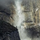 Yosemite Falls After A Storm