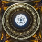 Stanford University's Memorial Church Dome