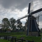 Windmill as used in creating polders