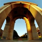 Arch Distortions of the War Memorial