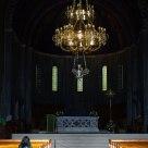 Praying. Basilica of S. Sylvester