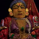 Kathakali performer Cochin India