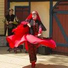 Dancing in Red & Black