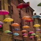 Rain umbrellas!