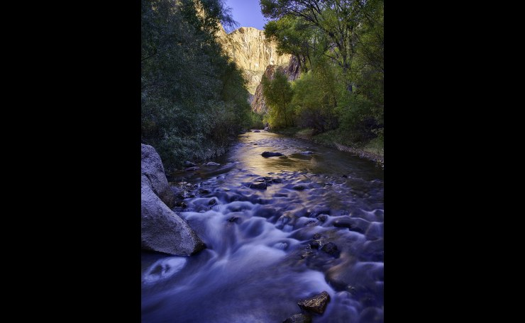 Autumn comes to Aravaipa Canyon, Arizona