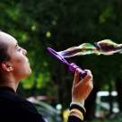 The Bubble Blower