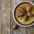 Muffin & almonds