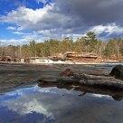Reflections at Big Spring Falls