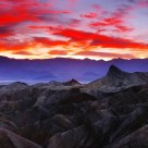 Zabriskie Point at Sunset 2