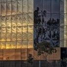 Reflective sunset shapes