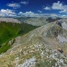 View from Serrone peak