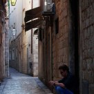 On the streets of old Dubrovnik