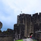Caerphilly castle (part of it)
