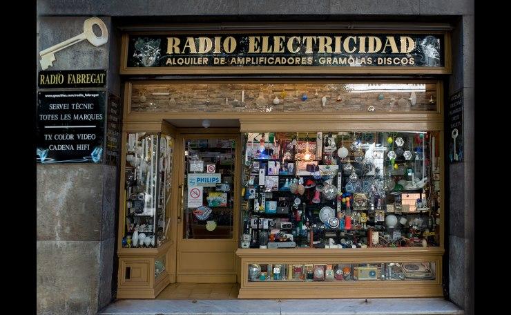 racons de Barcelona, botiga