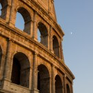 Colosseo all'imbrunire