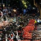 Shared bikes - be overloaded